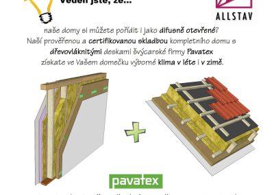 Difusně otevřené dřevostavby Allstav
