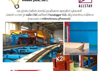 Speciální vybavení CNC Hundegger