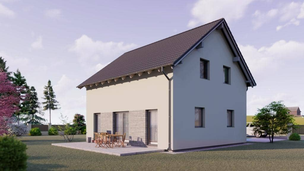 Allstav dům 122 kolik stojí provoz dřevostavby