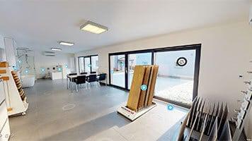Virtuální prohlídka vzorového domu - Allstav dřevostavby