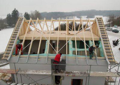 Vzorový dům dřevostavby Allstav 18
